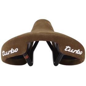 Selle Italia Turbo 1980 Nubuk Sadel Brun